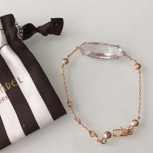 Henri Bendel Luxe rose gold bracelet